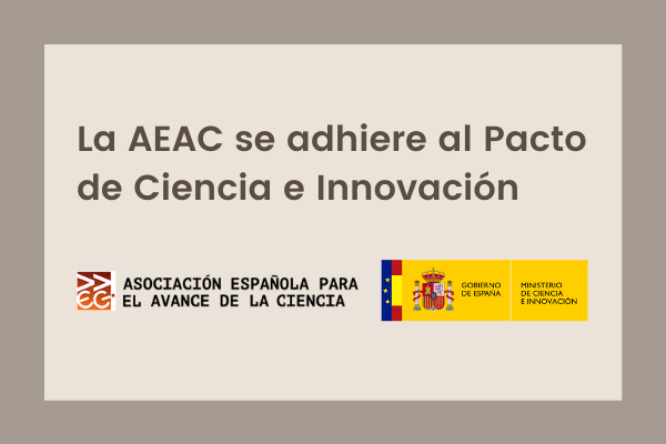 Título noticia La AEAC se adhiere al Pacto de Ciencia e Innovación